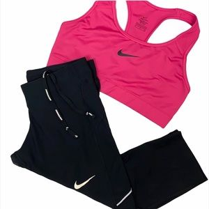 Nike Dri-Fit Workout Outfit Size S